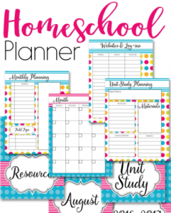 Home School Planner |Danstotridge.com